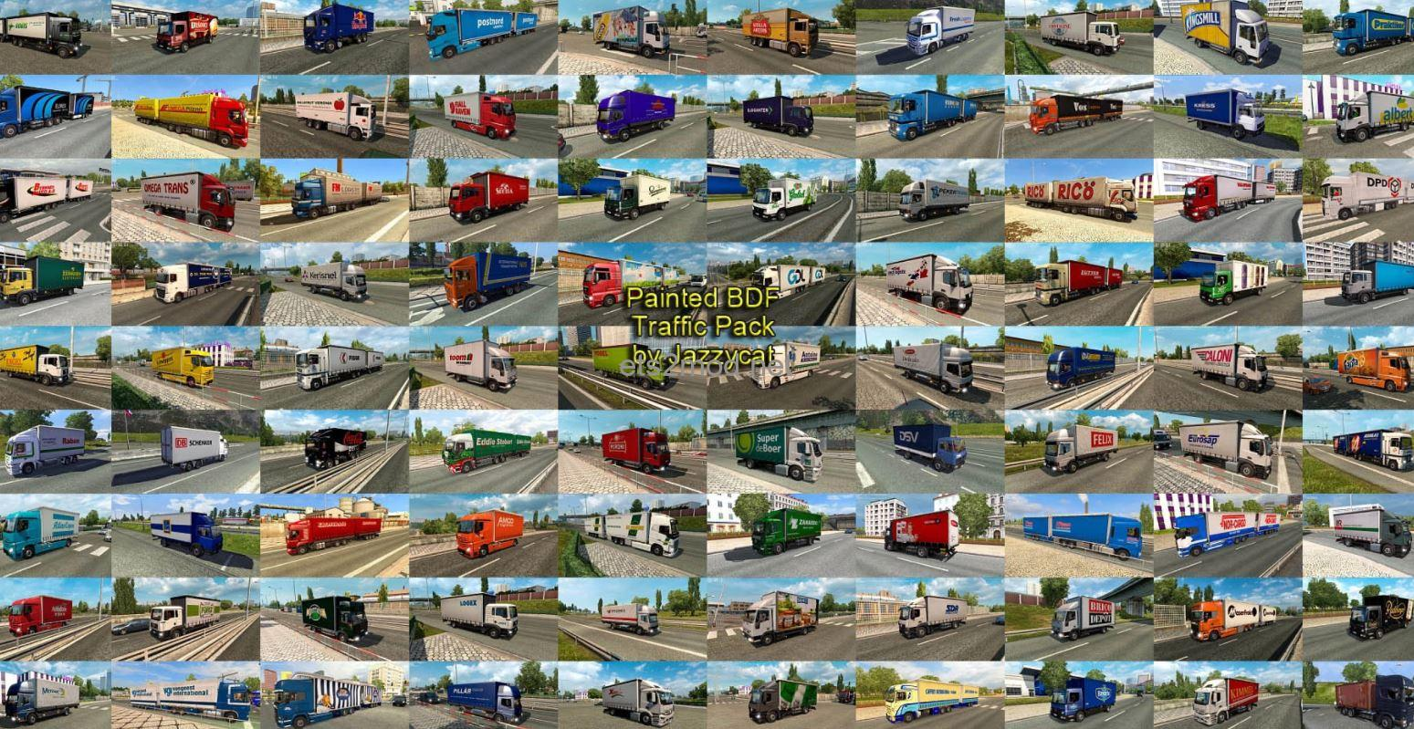 painted-bdf-traffic-pack-by-jazzycat-v10-7-ets2-mod-1